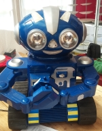A toy Robot brought in to be repaired